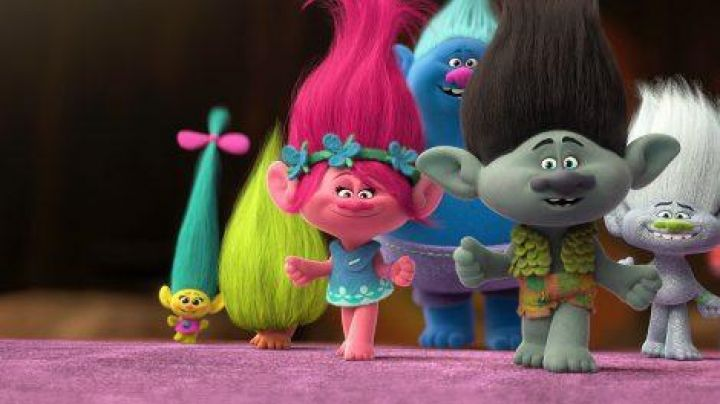 The costume of Poppy in the animated film a Troll Movie