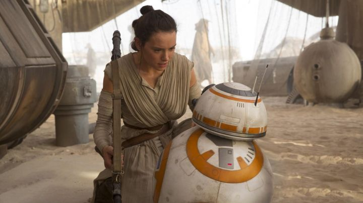 Fashion Trends 2021: The costume of Rey (Daisy Ridley in Star Wars episode VII : The Awakening of the Force