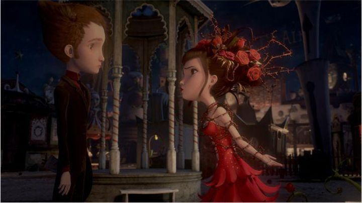 The costume of miss Acacia (Olivia ruiz) in the animated film Jack and the mechanics of the heart - Movie Outfits and Products