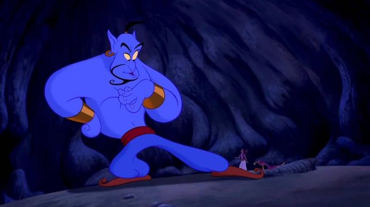 The costume of the Genius in the cartoon Aladdin and the king of thieves - Movie Outfits and Products