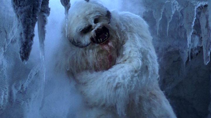 The costume of the Wampa in Star Wars V : The Empire Against Attack - Movie Outfits and Products
