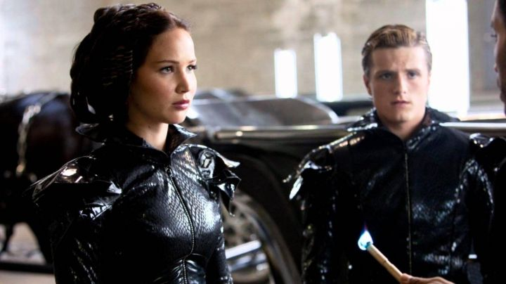 Fashion Trends 2021: The costume parade black Katniss Everdeen (Jennifer Lawrence) in Hunger Games