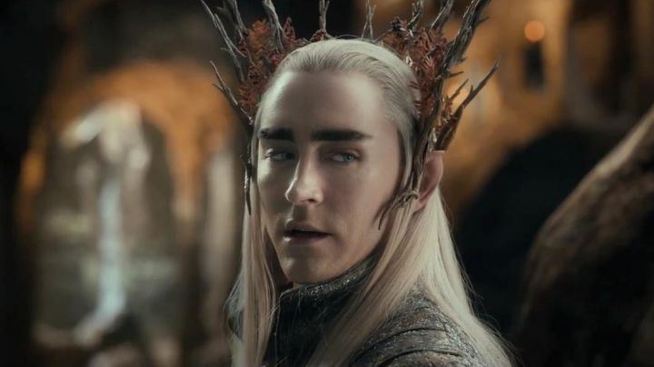The crown of Thranduil (Lee Pace) in The Hobbit : The Desolation of Smaug Movie