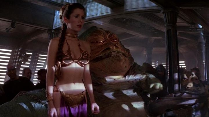 The cuff 3D Princess Leia (Carrie Fisher) in Star Wars V : The empire against attack - Movie Outfits and Products