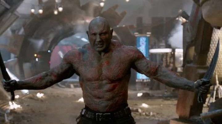 Fashion Trends 2021: The dagger of Drax the Drestructeur (Dave Bautista) in Guardians of the Galaxy Vol. 2
