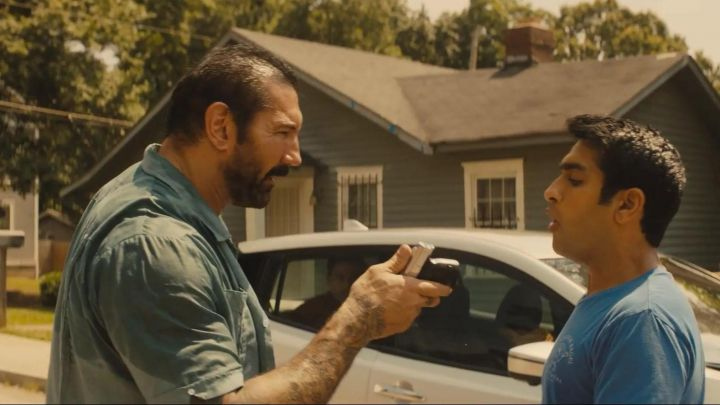 Fashion Trends 2021: The denim shirt worn by Vic (Dave Bautista) in Stuber