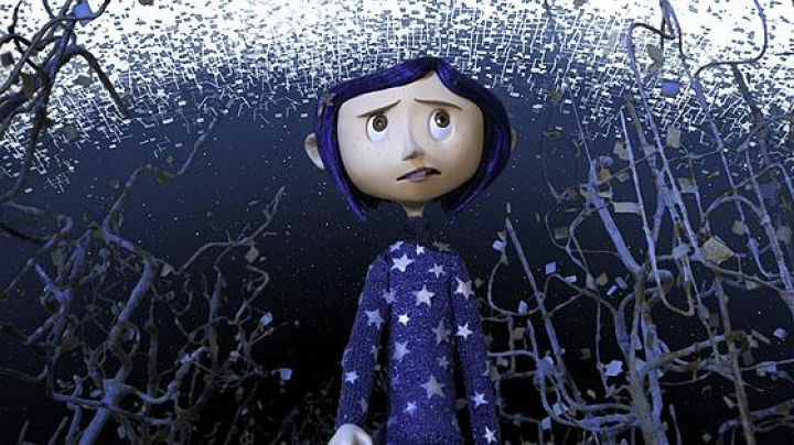 The  doll of Coraline in the animated film Coraline - Movie Outfits and Products
