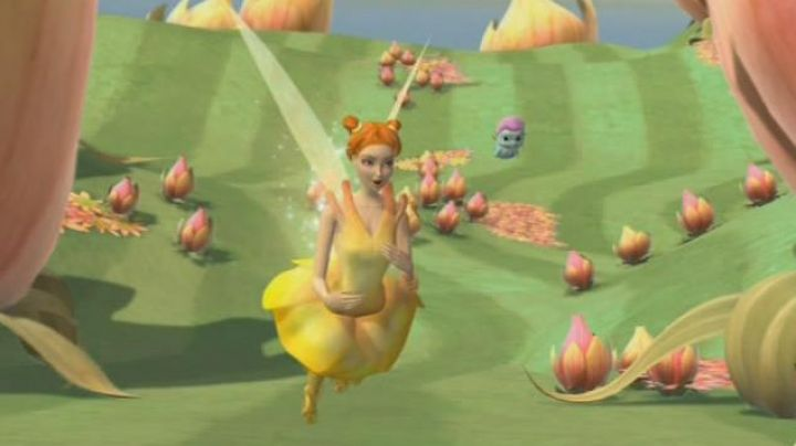 The  doll of the Dandelion in the animated film Barbie Fairytopia - Movie Outfits and Products