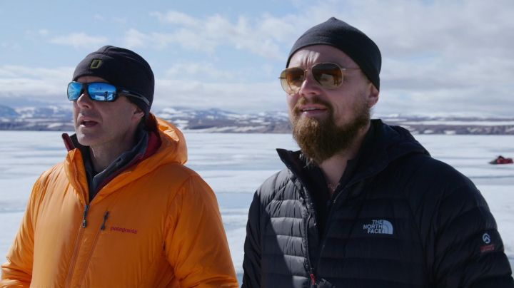 Fashion Trends 2021: The down jacket, The North Face of Leonardo DiCaprio in Before The Flood / Before the Flood