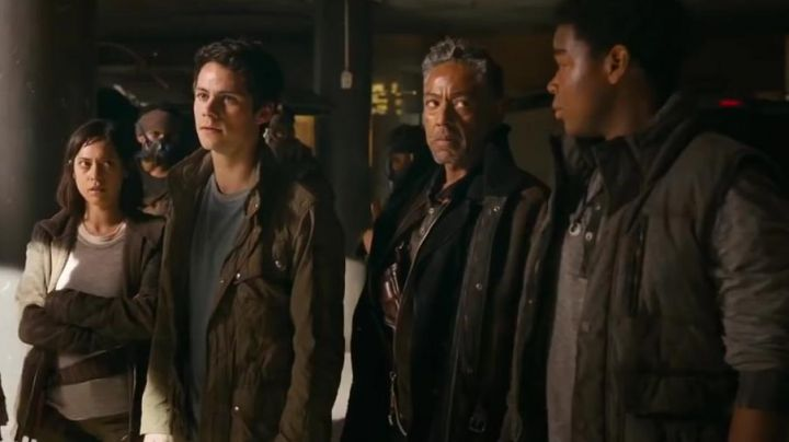 The down jacket without sleeve Siggy (Dexter Darden) in The Labyrinth : the cure mortal - Movie Outfits and Products