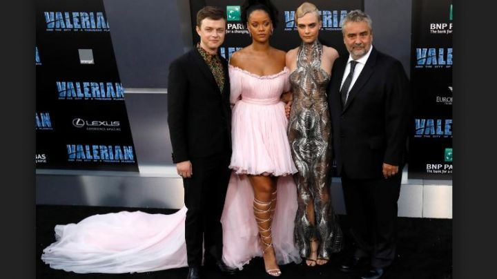 Fashion Trends 2021: The dress Cara Delevingne at the premiere of Valérian and the city of ten thousand planets