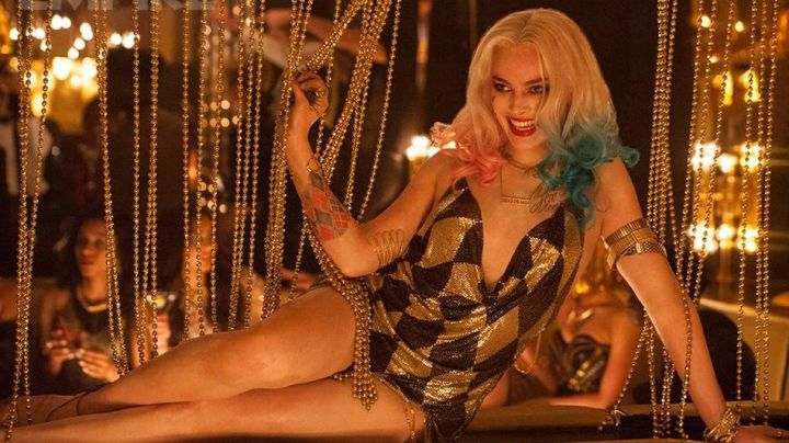 Fashion Trends 2021: The dress checkered black-and-gold Harley Quinn (Margot Robbie) in Suicide Squad