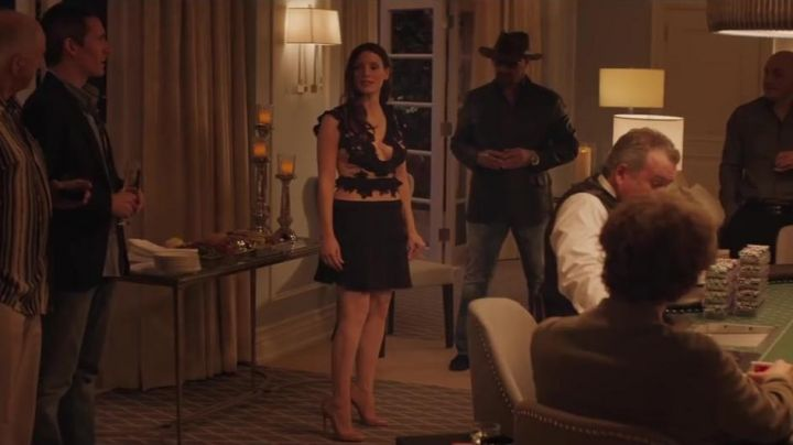 The dress of Molly Bloom (Jessica Chastain) in The Great Game Movie
