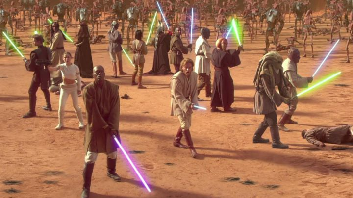 Fashion Trends 2021: The dress of the Jedi in Star Wars II : attack of The clones