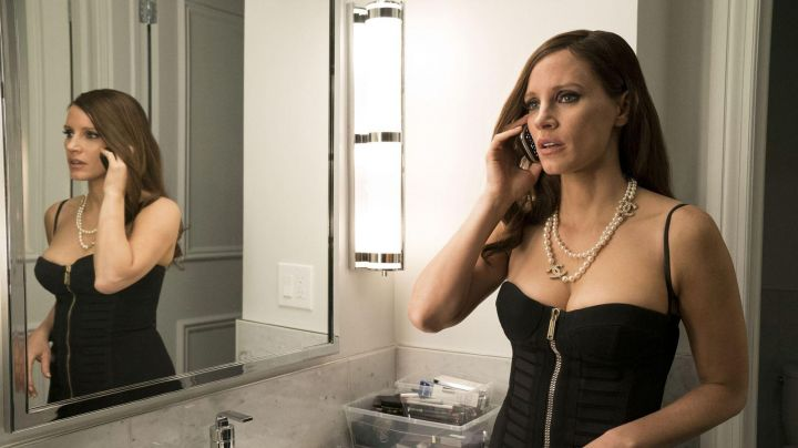 The dress zipee of Molly Bloom (Jessica Chastain) in The great game - Movie Outfits and Products