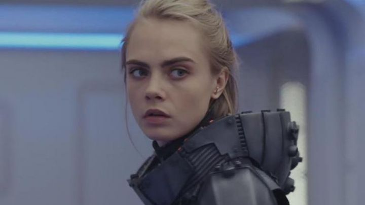 The earrings Vanrycke Paris Laureline (Cara Delevingne) in Valérian and the City of ten thousand planets
