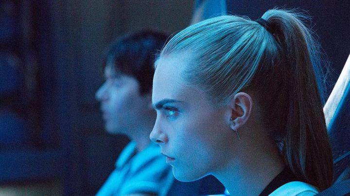 The earrings Vanrycke of Laureline (Cara Delevingne) in Valérian and the city of ten thousand planets