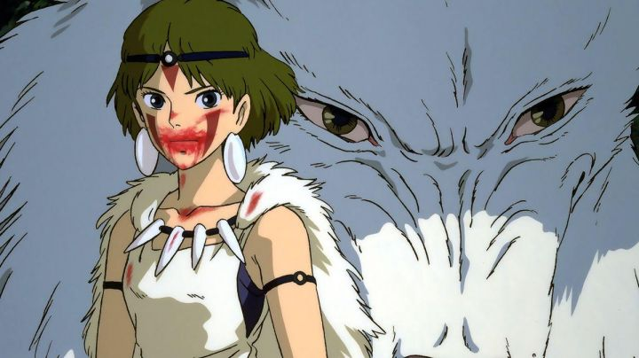 The earrings and the necklace of Princess Mononoke in Princess Mononoke - Movie Outfits and Products