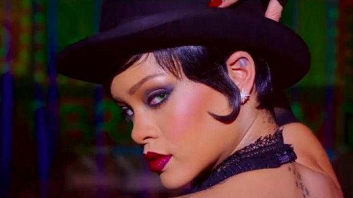 The earrings of Rihanna in Valérian and the city of ten thousand planets