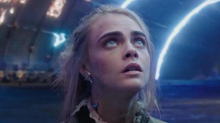 The earrings worn by Laureline (Cara Delevingne) in Valérian and the city of ten thousand planets