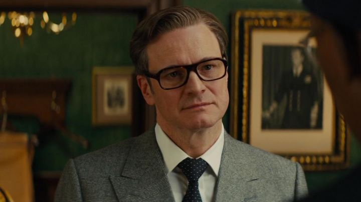 The eyeglasses of Harry Hart (Colin Firth) in Kingsman : the secret Service
