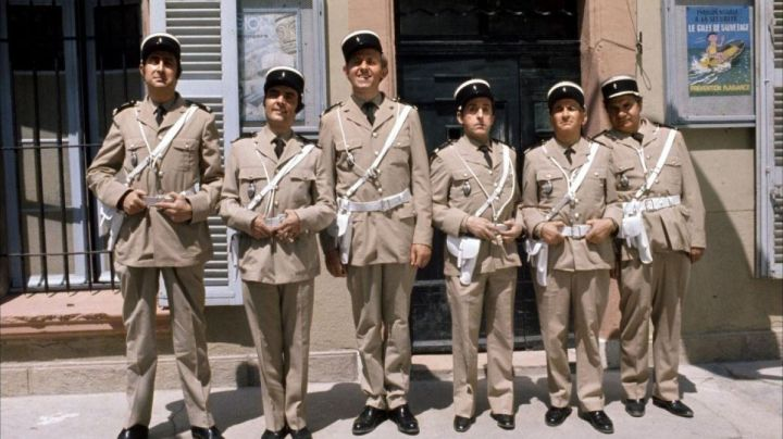 The former National Gendarmerie of Saint-Tropez, The Gendarme from Saint-Tropez - Movie Outfits and Products