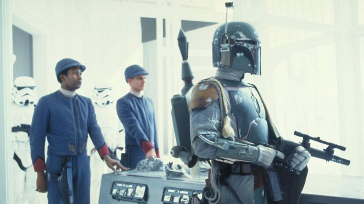 Fashion Trends 2021: The gauntlet of Boba Fett in Star Wars V : The empire against attack