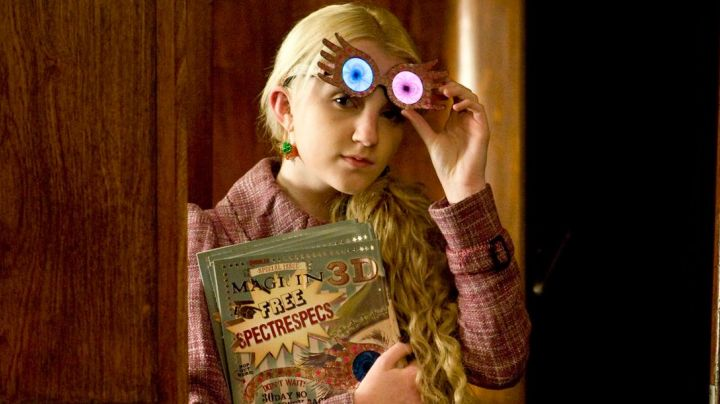 The glasses Luna Dragon (Evanna Lynch) in Harry Potter and the half-blood Prince - Movie Outfits and Products