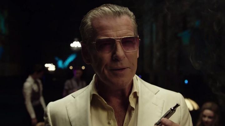 Fashion Trends 2021: The glasses Oliver Peoples from Daemon Sloane (Pierce Brosnan) in Urge