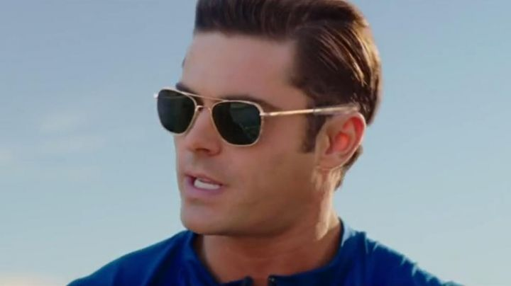 The glasses aviator Matt Brody (Zac Efron) in Baywatch : baywatch - Movie Outfits and Products
