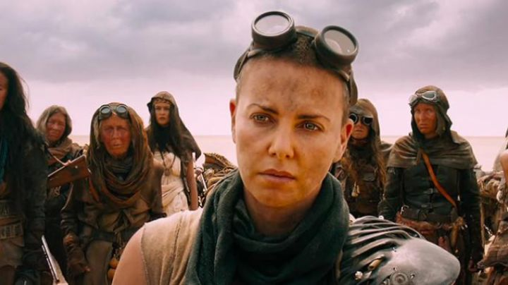 The glasses of Imperator Furiosa (Charlize Theron) in ' Mad Max Fury Road movie