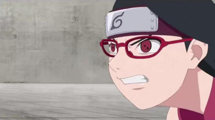 The glasses to Sarada in Boruto : Naruto the movie - Movie Outfits and Products