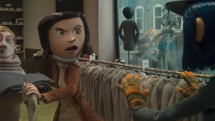 What The gloves Coraline jones in the animated film Coraline