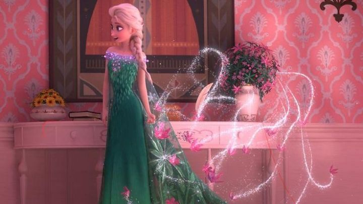 Fashion Trends 2021: The green dress of Elsa in The snow queen
