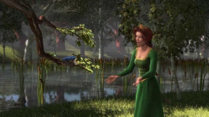 Fashion Trends 2021: The green dress of Fiona in the animated film Shrek