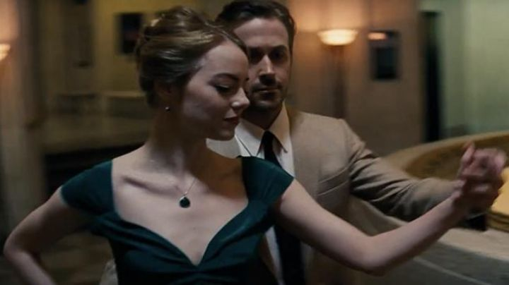 Fashion Trends 2021: The green dress of Mia (Emma Stone) in the The Land