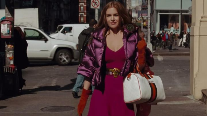 The handbag of Gucci of Rebecca Bloomwood (Isla Fisher) in Confessions of a shopaholic - Movie Outfits and Products