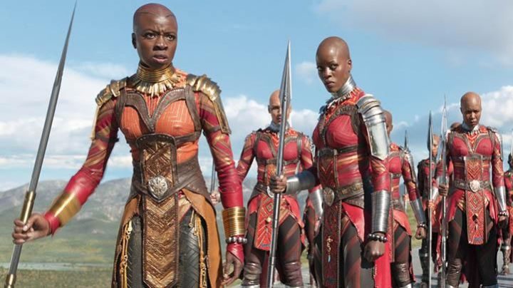 The harness Okoye (Danai Gurira) in Black Panther - Movie Outfits and Products
