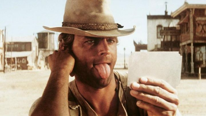 The hat of Terence Hill in My name is nobody movie