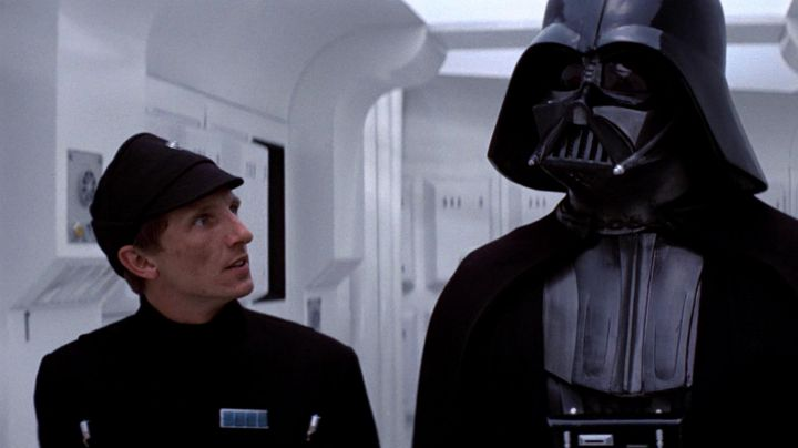 The hat of an officer of the Empire of Doe'jir in Star Wars