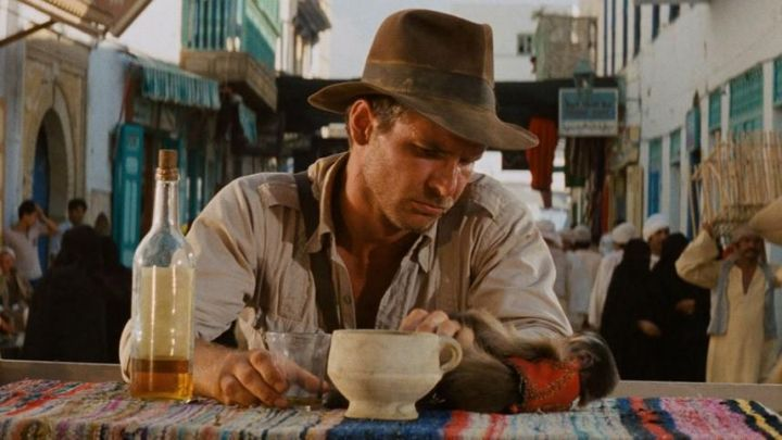 The hat to Henry Jones Jr (Harrison Ford) in Raiders of the Lost Ark movie