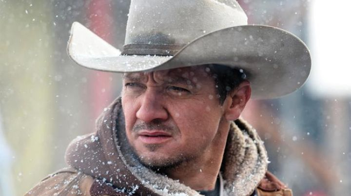 The hat type Stetson white Corey Lambert (Jeremy Renner) in Wind River - Movie Outfits and Products