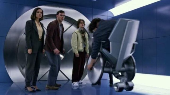 The heel shoes black in X-Men Apocalypse - Movie Outfits and Products