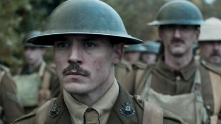 The helmet of the british soldiers in the film Journey's End - Movie Outfits and Products