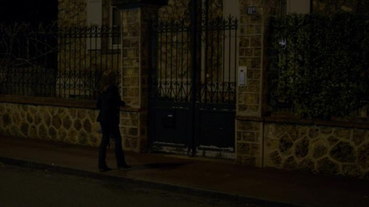 The home of Michelle at 11 bis Rue Charles Rhone already Saint-Germain-en-Laye in the film, She - Movie Outfits and Products