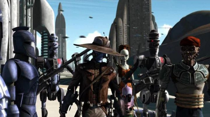Fashion Trends 2021: The hoslter and gun Cad Bane in Star Wars : The Clone Wars