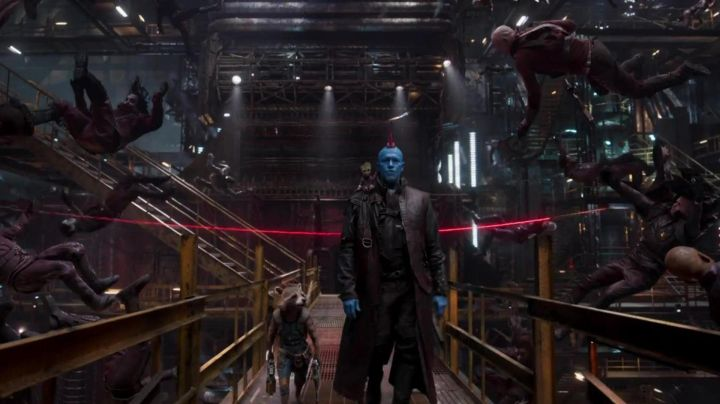 The iroquois red Yondu Udonta (Michael Rooker) Guardians Of The Galaxy 2 - Movie Outfits and Products