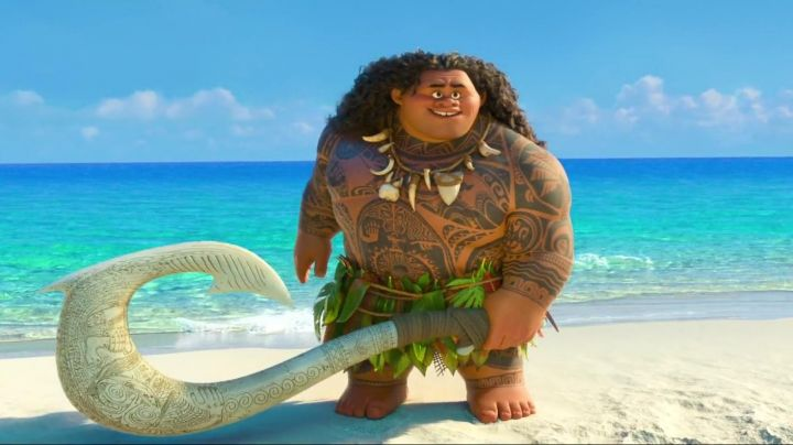 The  is stuffed of Maui in Vaiana, the legend of the end of the world - Movie Outfits and Products