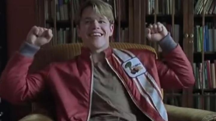 Fashion Trends 2021: The jacket Ford red of Will Hunting (Matt Damon) in good Will Hunting