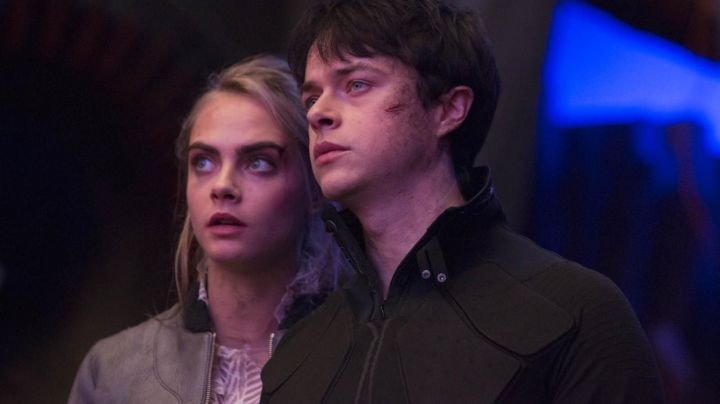 Fashion Trends 2021: The jacket Laureline (Cara Delevingne) in Valeriana and the city of ten thousand planets